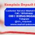 Cara Komplain Deposit Pulsa Belum Masuk Di Market Pulsa